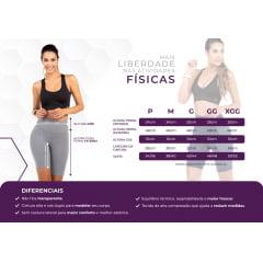 Bermuda Fitness Feminina Preta Dacrirô